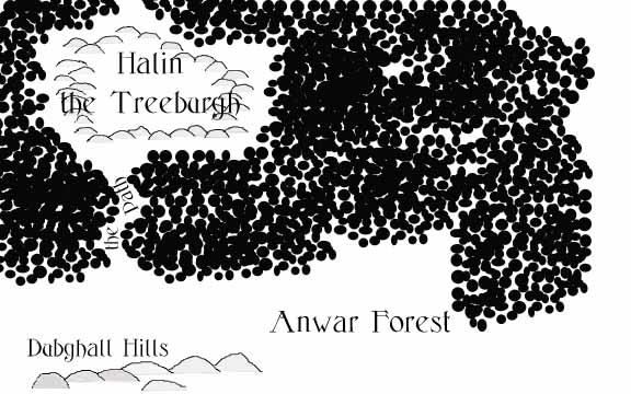 Halin in Anwar Forest