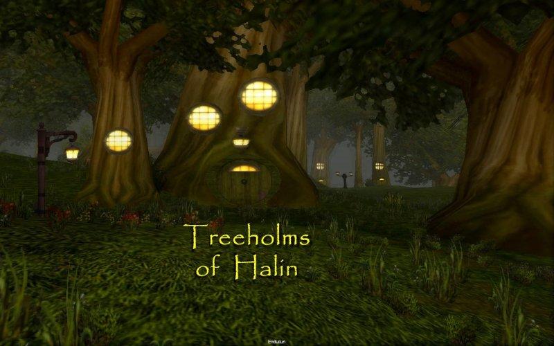 Treeholms of Halin
